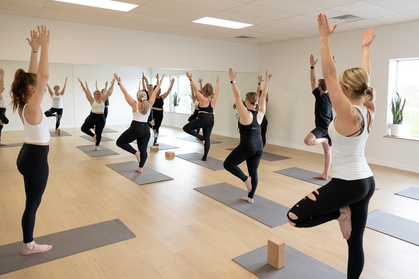 Sweat Shop Hot Yoga Oconomowoc Yoga Group Class 12